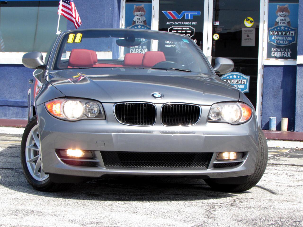 BMW 1 Series 2dr Conv 128i 2011