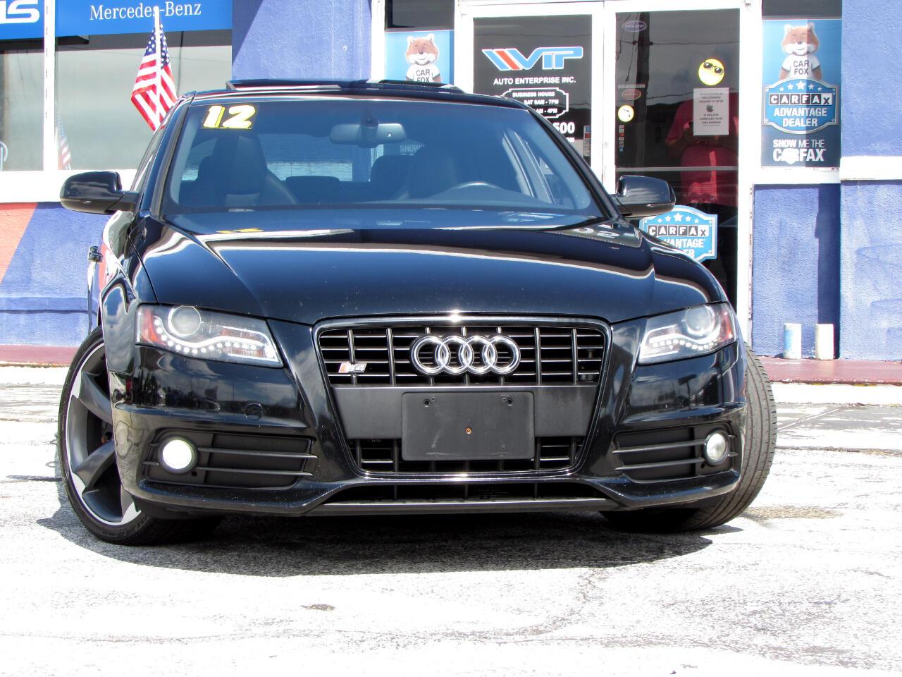 Audi S4 4dr Sdn S Tronic Prestige 2012