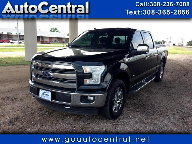 "2015 Ford F-150 SuperCrew 139"" Lariat 4WD"