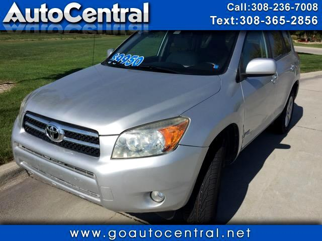 2008 Toyota RAV4 Limited I4 2WD with 3rd Row