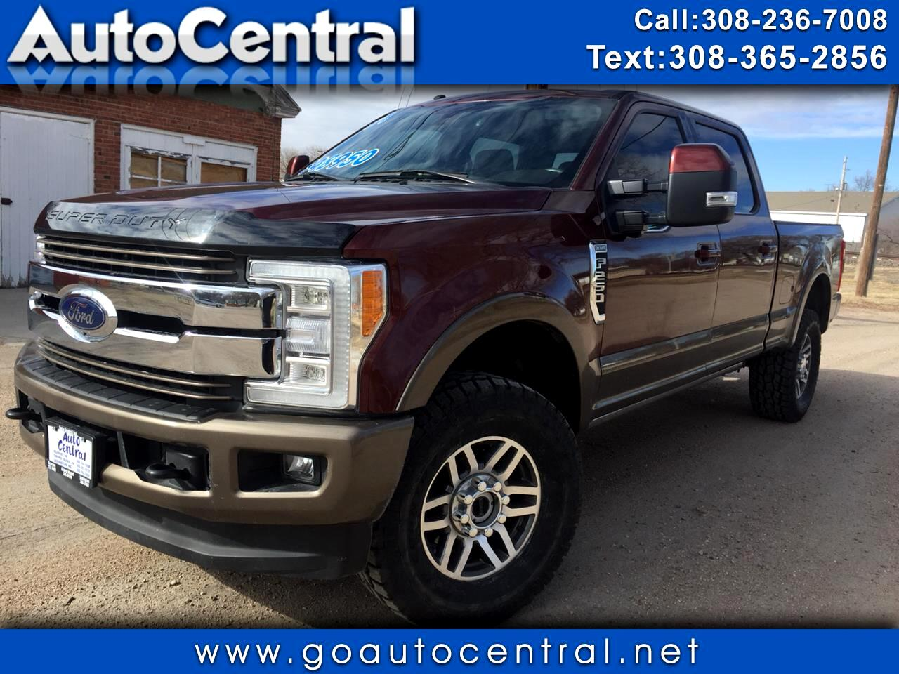 2017 Ford Super Duty F-250 SRW Lariat 4WD Crew Cab 8' Box