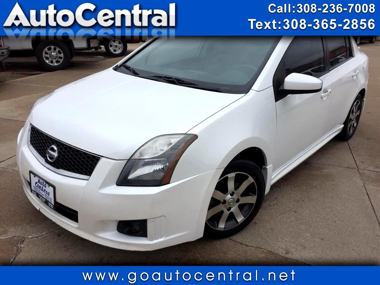 2012 Nissan Sentra 4dr Sdn I4 CVT 2.0 SR