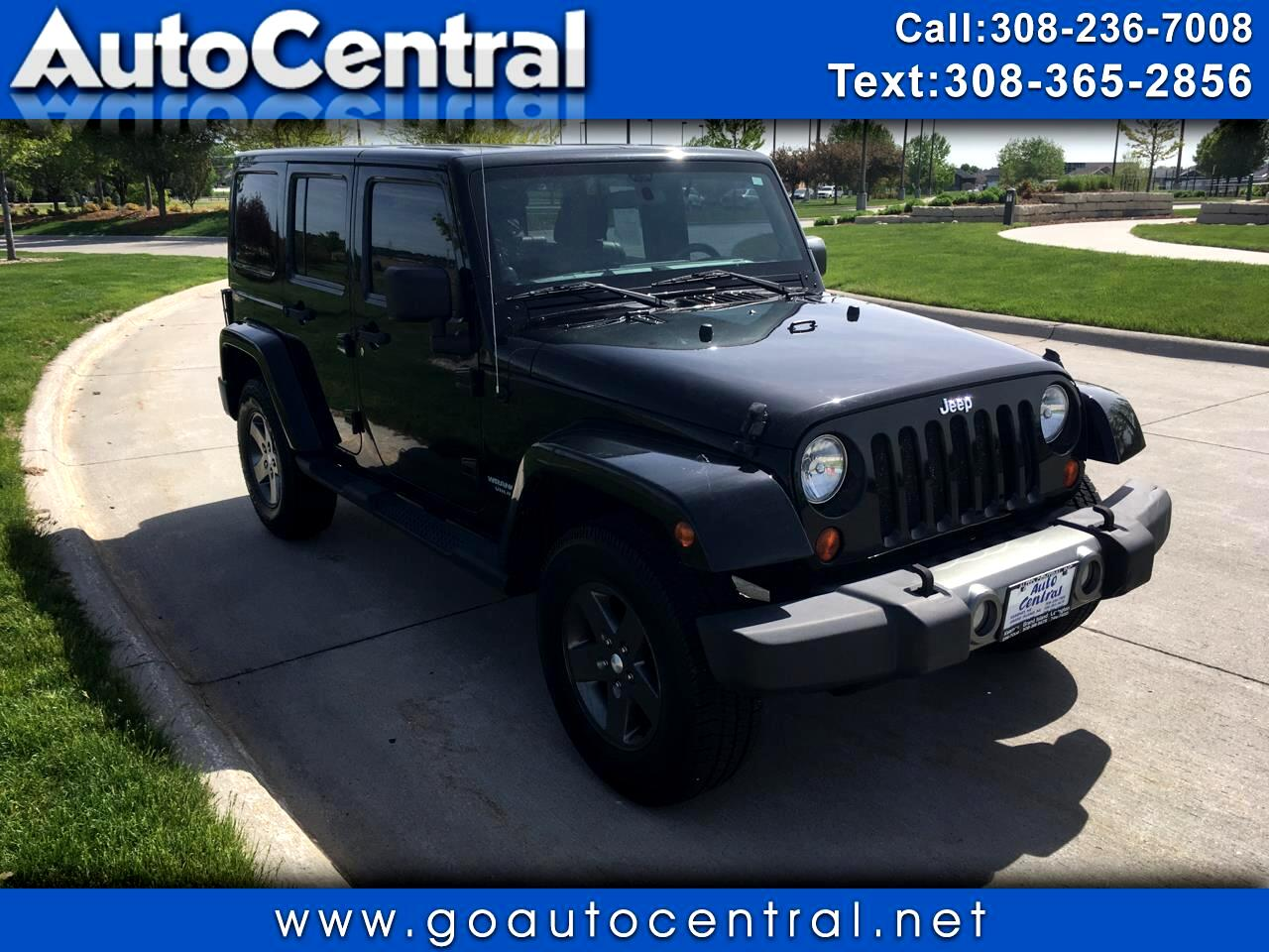 2011 Jeep Wrangler Unlimited 4WD 4dr Mojave