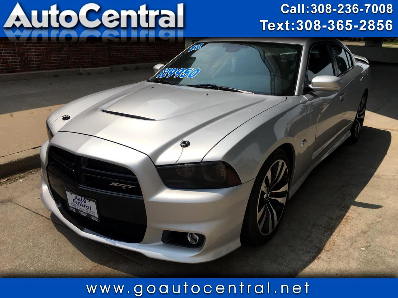 2012 Dodge Charger 4dr Sdn SRT8 RWD