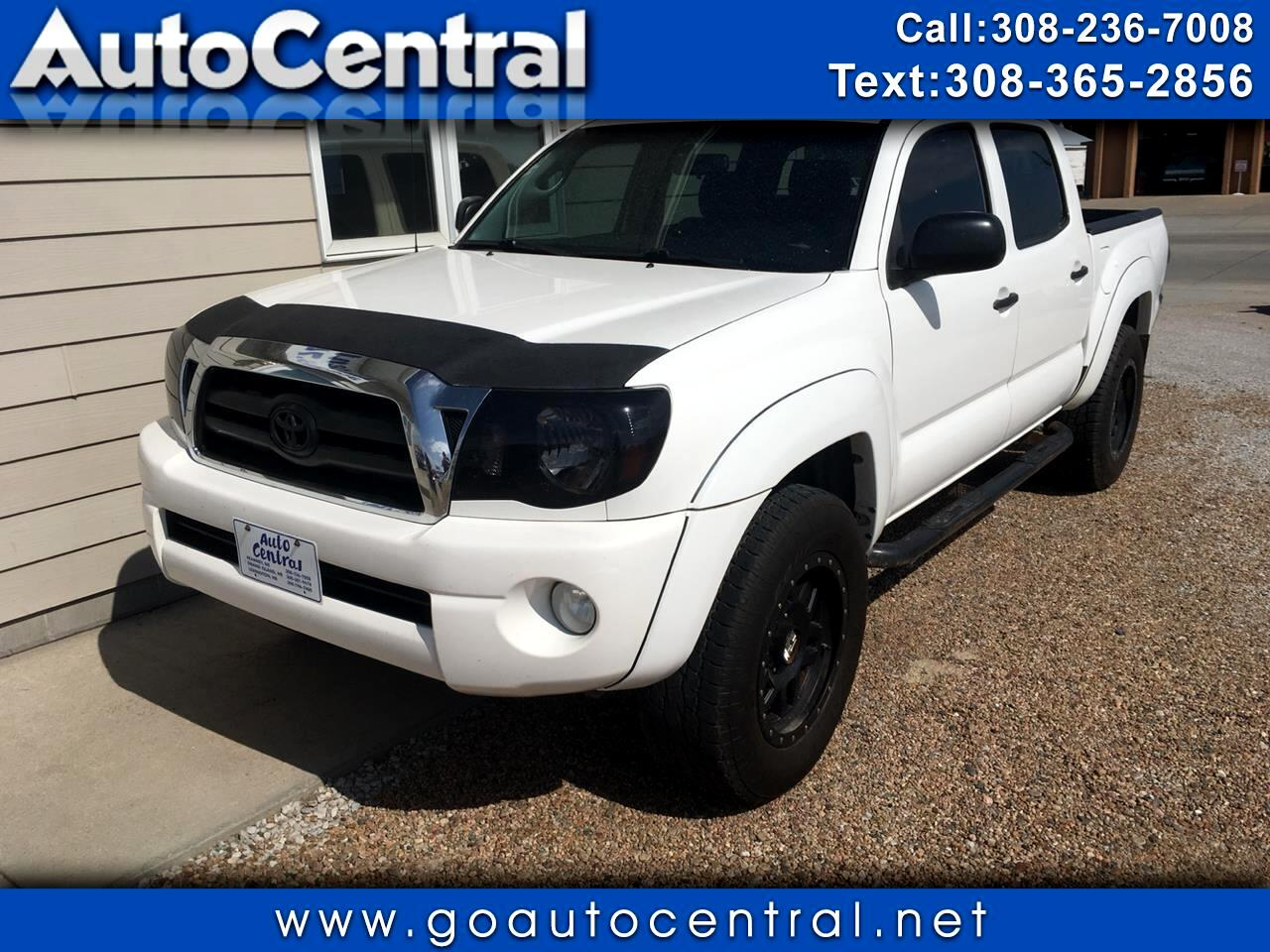 2006 Toyota Tacoma 4WD SR Double Cab 5' Bed V6 MT (Natl) *Ltd Avail*