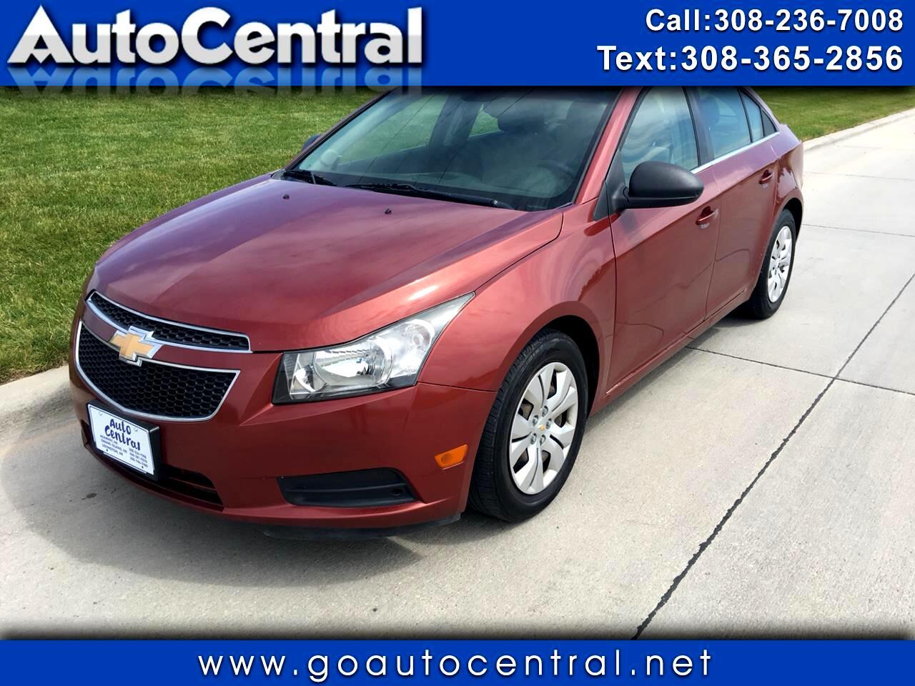 2012 Chevrolet Cruze 4dr Sdn LS