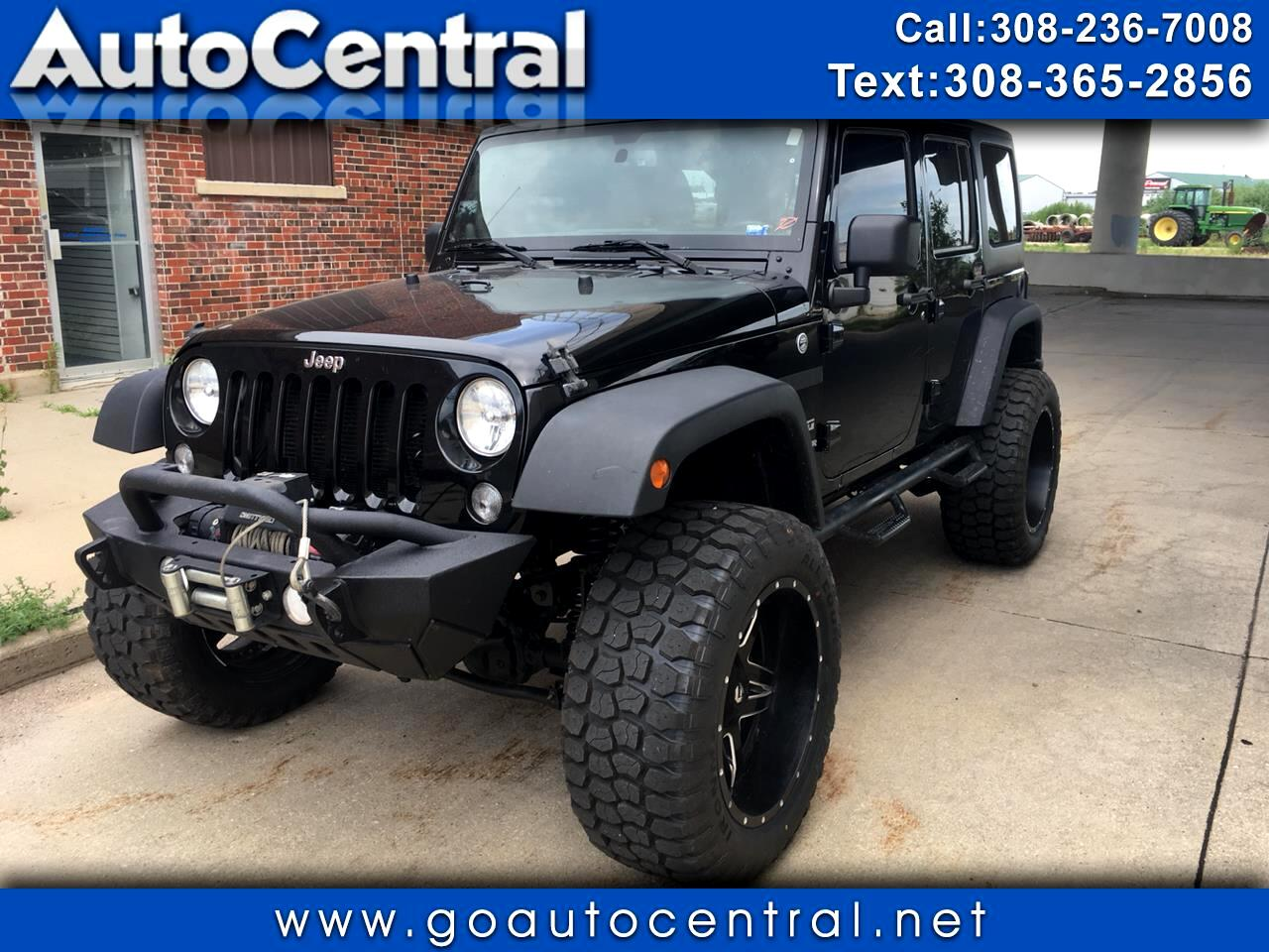 2014 Jeep Wrangler Unlimited 4WD 4dr Sport