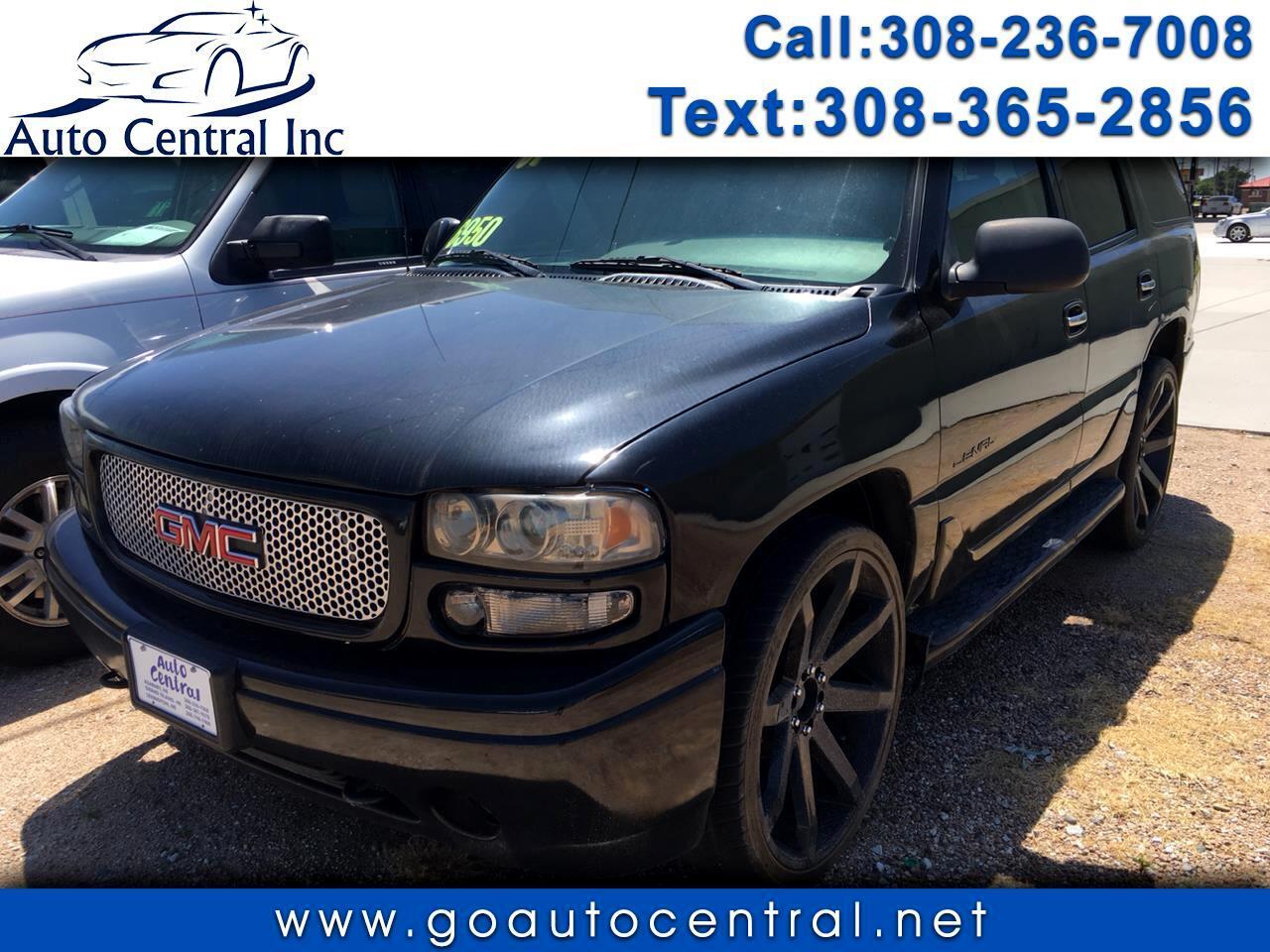 GMC Yukon Denali 2WD 4dr 2001