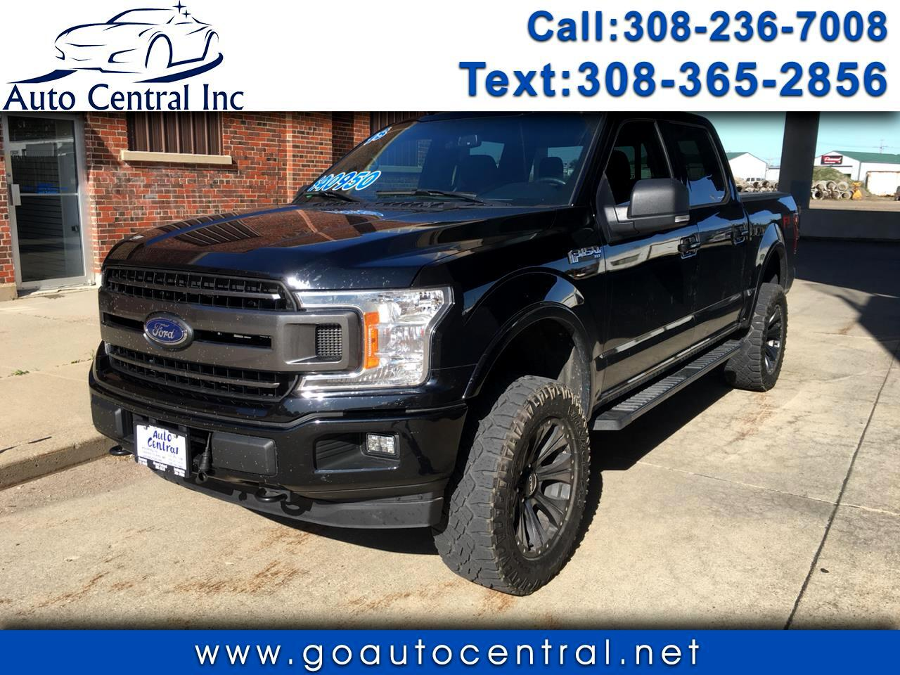 "2018 Ford F-150 SuperCrew 139"" XLT 4WD"