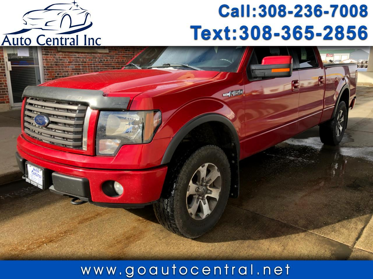 "Ford F-150 4WD SuperCrew 150"" FX4 2012"