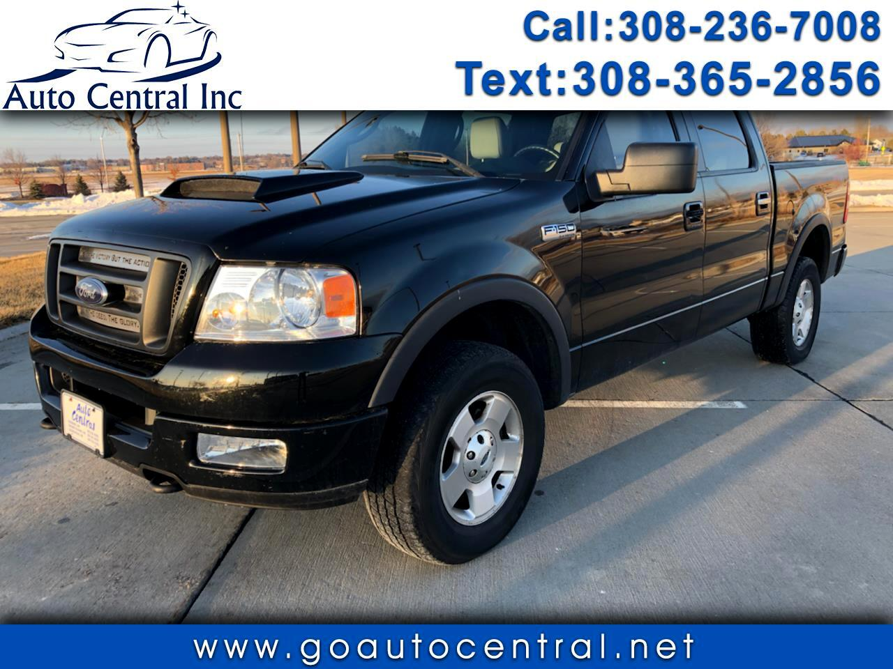 """Ford F-150 SuperCrew 139"""" FX4 4WD 2005"""