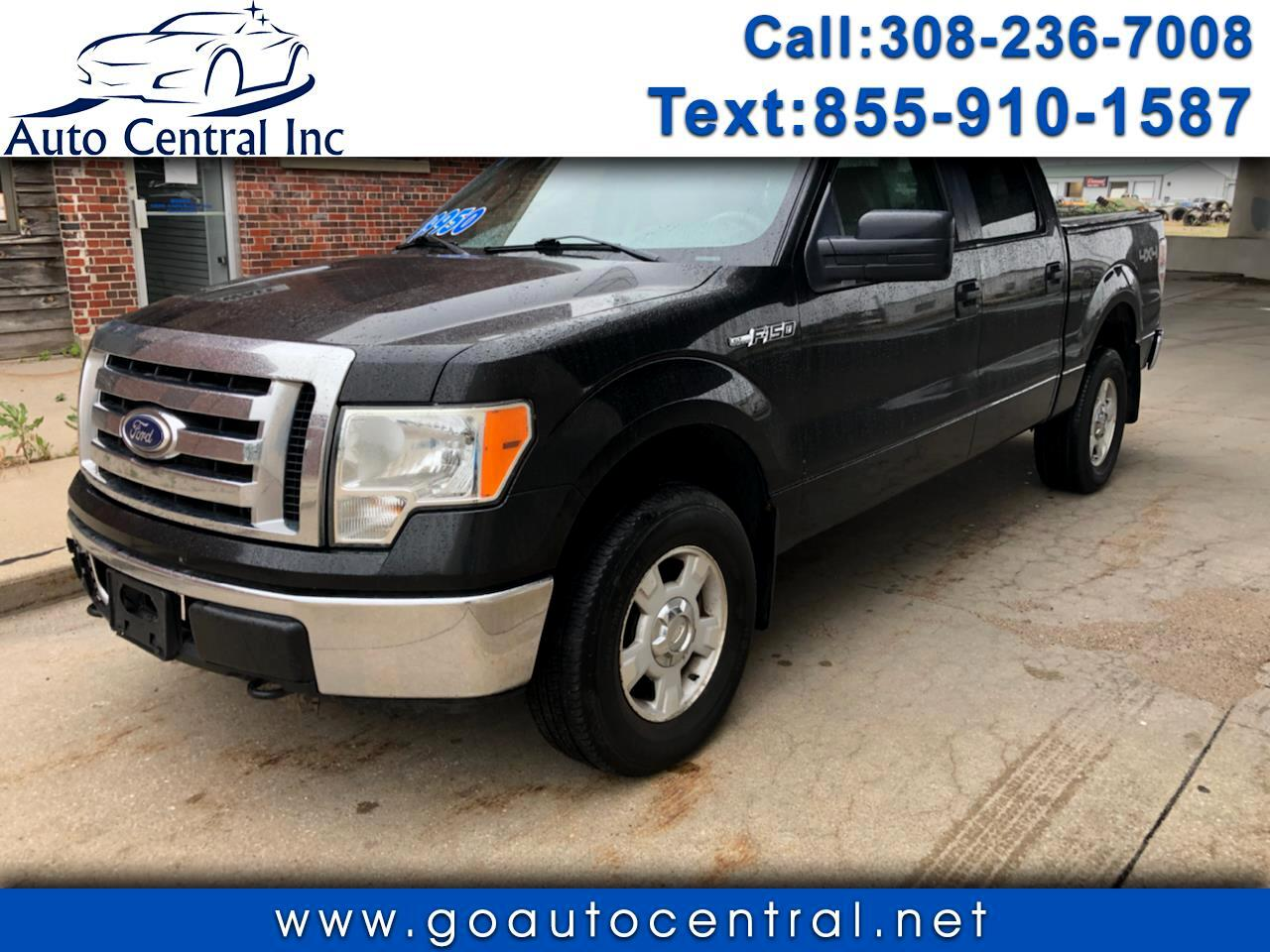 "Ford F-150 4WD SuperCrew 157"" XLT 2010"