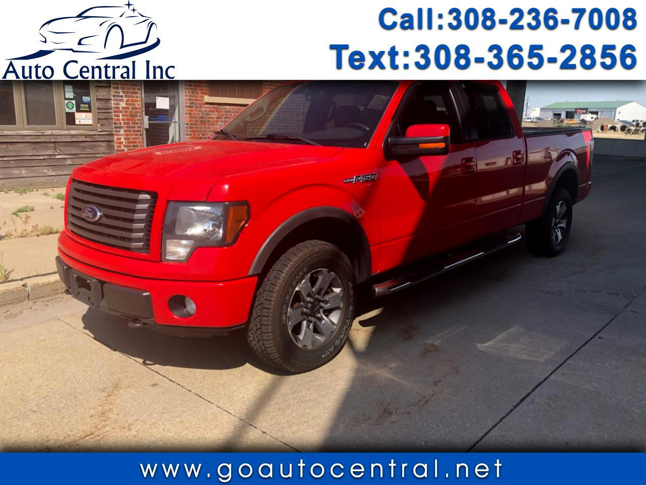 "Ford F-150 4WD SuperCrew 145"" FX4 2012"