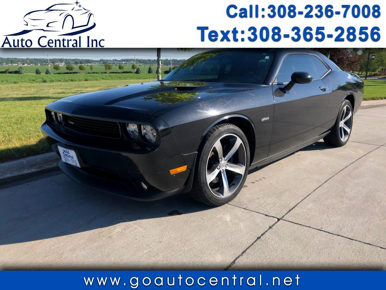 Used 2014 Dodge Challenger 2dr Cpe Sxt 100th Anniversary Appearance Group For Sale In Kearney Ne 68847 Auto Central