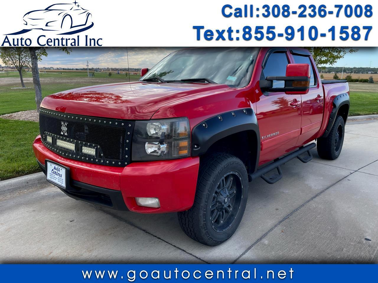 """2008 Chevrolet Silverado 1500 4WD Crew Cab 143.5"""" LT w/1LT"""