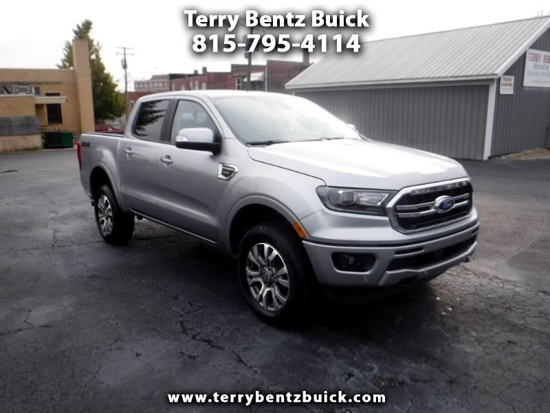 Ford Ranger LARIAT 4WD SuperCrew 5' Box 2020