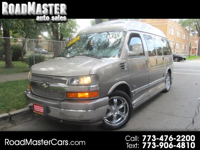 """2009 Chevrolet Express Cargo Van RWD 1500 135"""" YF7 Upfitter"""