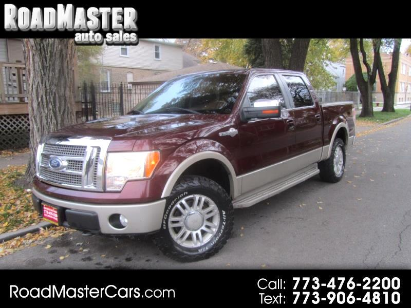 "2010 Ford F-150 4WD SuperCrew 145"" King Ranch"