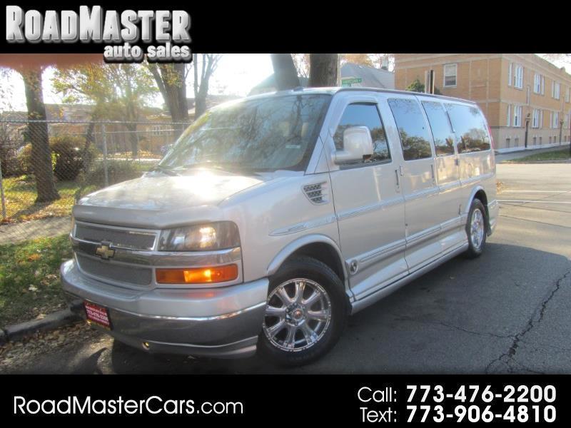 """2011 Chevrolet Express Cargo Van RWD 1500 135"""" YF7 Upfitter"""