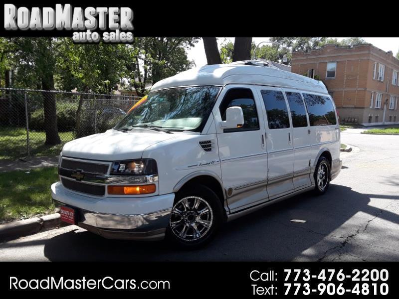"""2010 Chevrolet Express Cargo Van RWD 1500 135"""" YF7 Upfitter"""