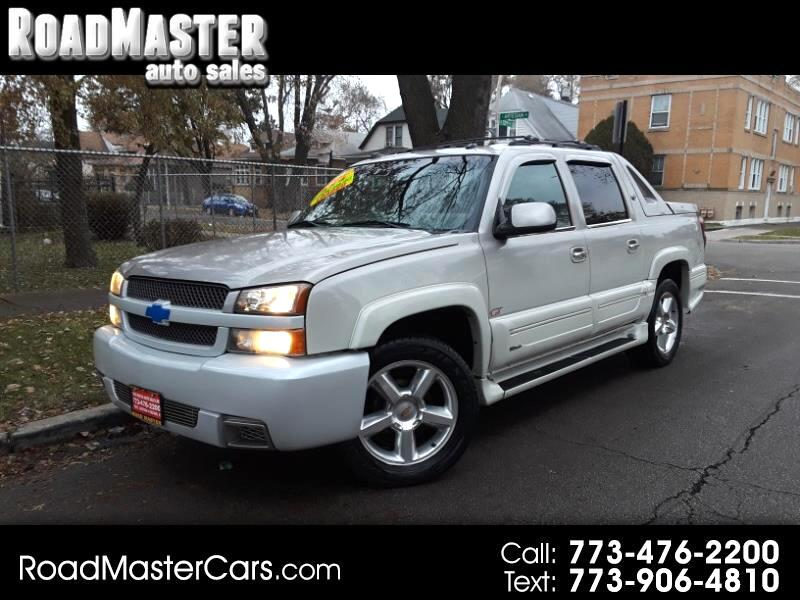 "Chevrolet Avalanche 1500 5dr Crew Cab 130"" WB 4WD Z71 2004"