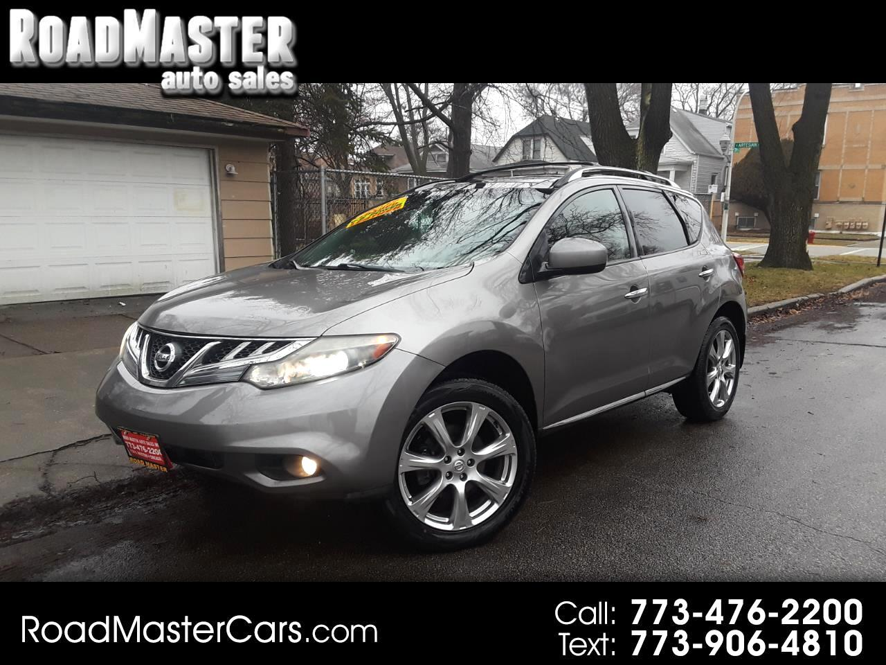 Nissan Murano AWD 4dr LE 2012