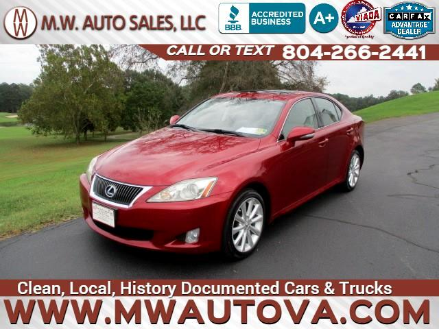 2009 Lexus IS IS 250 AWD 6-Speed Sequential
