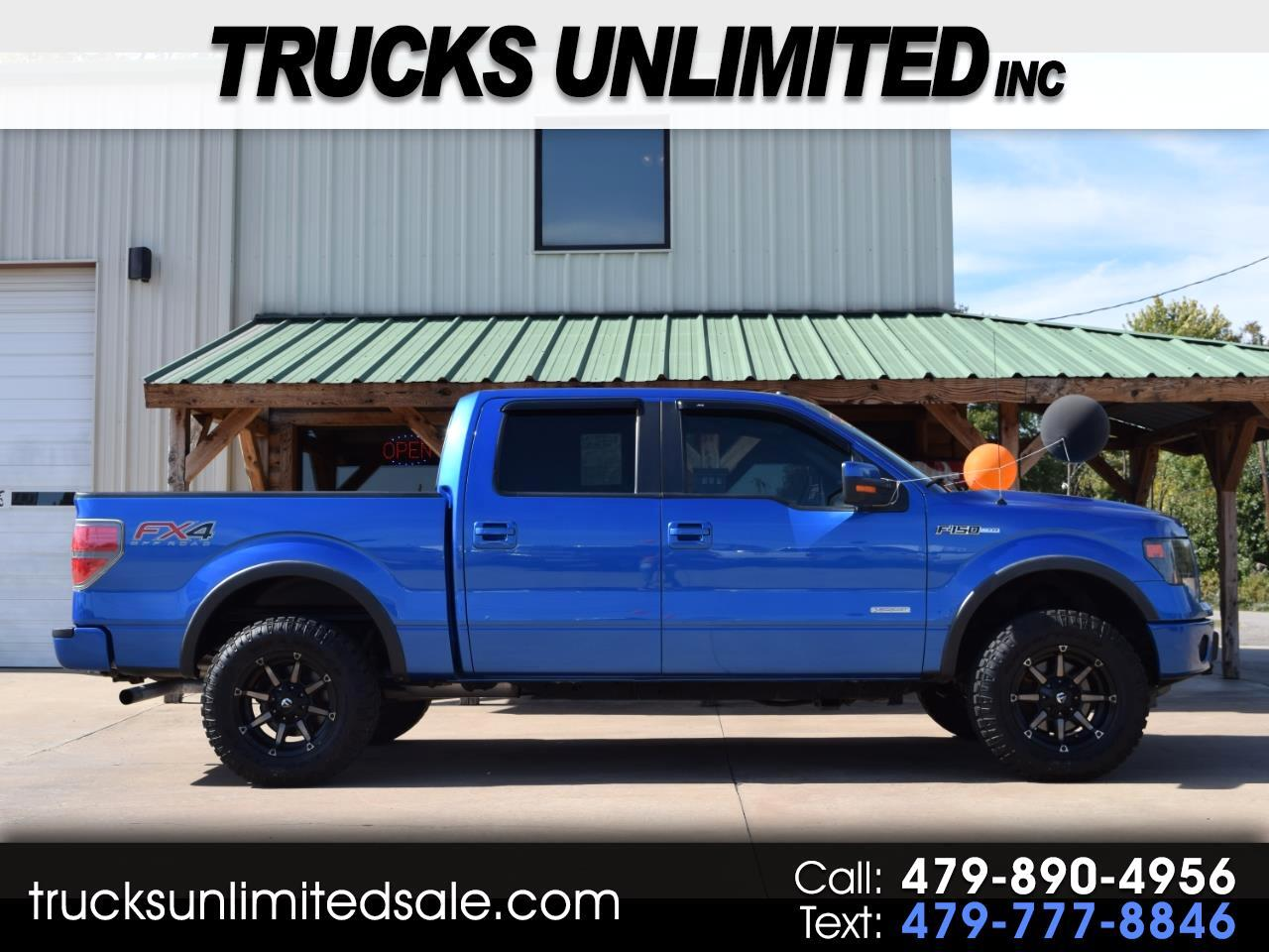 2013 Ford F-150 FX4 SuperCab 5.5-ft Box 4WD