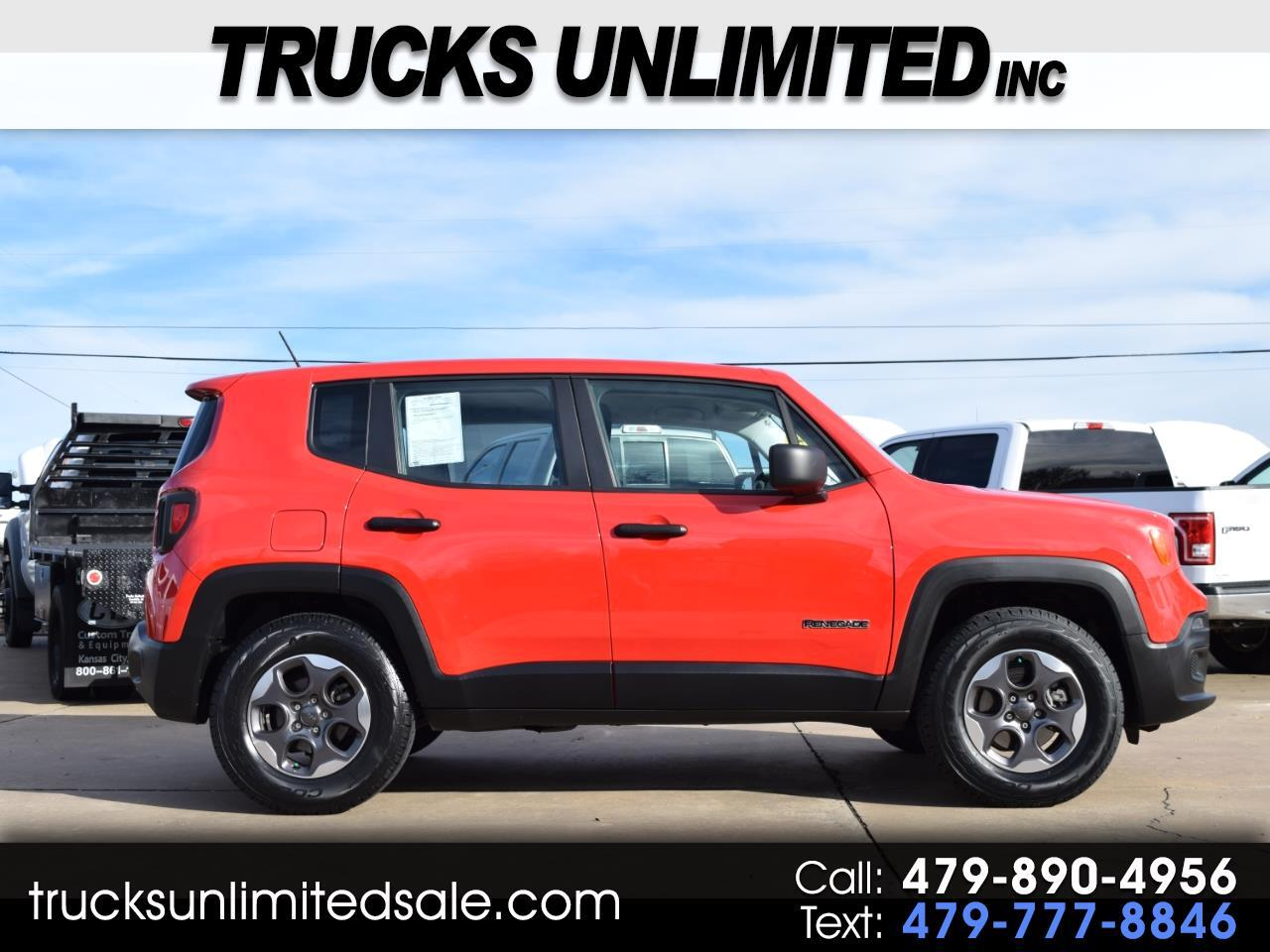 2015 Jeep Renegade 4WD 4dr Sport