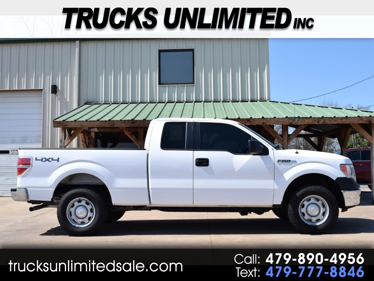 2014 Ford F-150 XL Extended Cab Short Bed 4x4