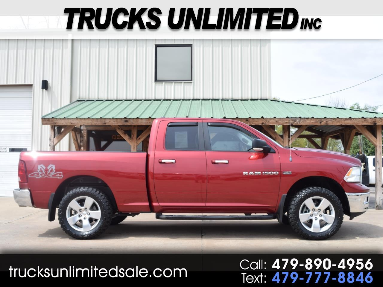 2012 Dodge Ram Pickup 1500 Big Horn Quad Cab Short Bed 4WD