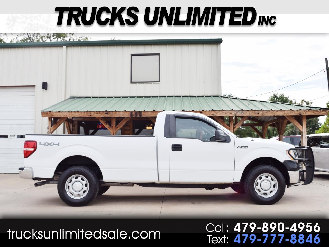 2013 Ford F-150 Regular Cab Long Bed 4WD