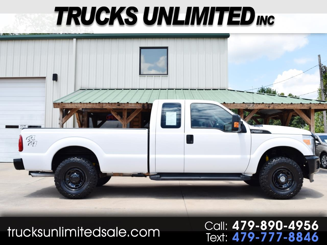 2015 Ford Super Duty F-250 SRW SuperCab Long Bed 4WD