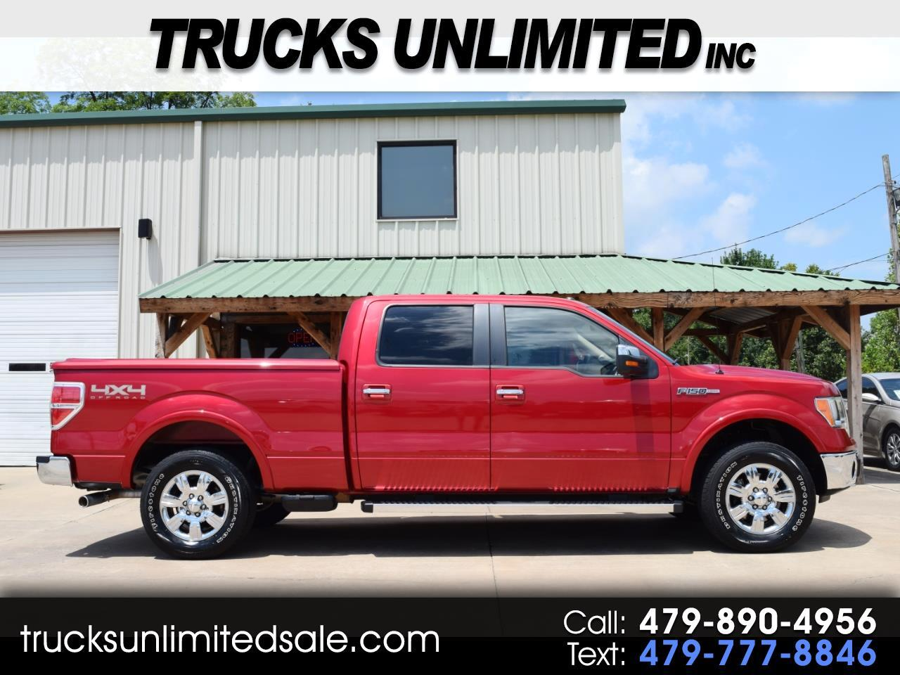 2012 Ford F-150 Lariat SuperCrew 6.5 Ft Bed 4WD