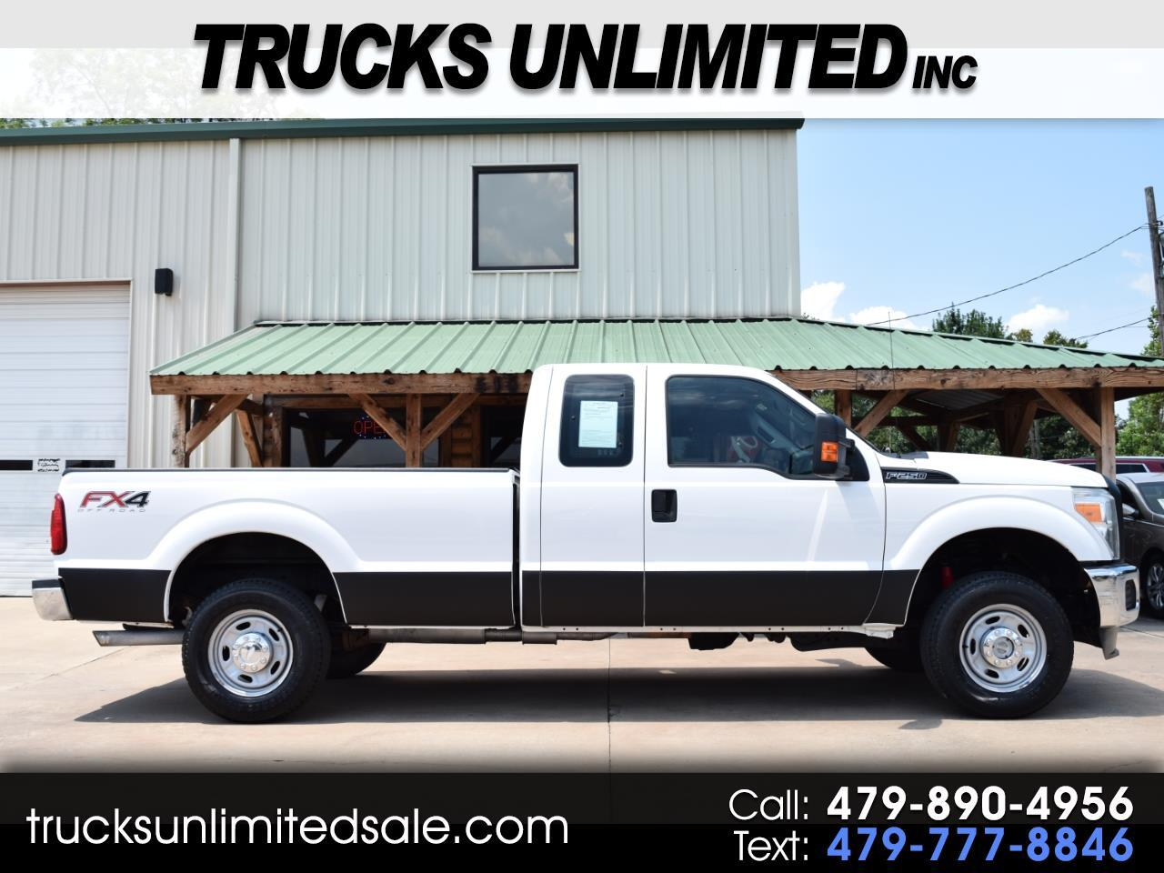 2013 Ford Super Duty F-250 SRW Extended Cab Long Bed 4WD
