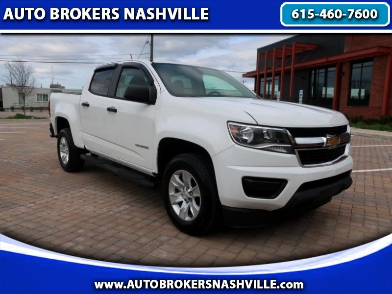 Chevrolet Colorado Work Truck Crew Cab 2WD Short Box 2016