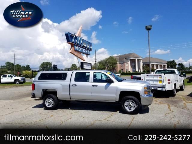 2015 Chevrolet Silverado 2500HD Work Truck Crew Cab 4WD