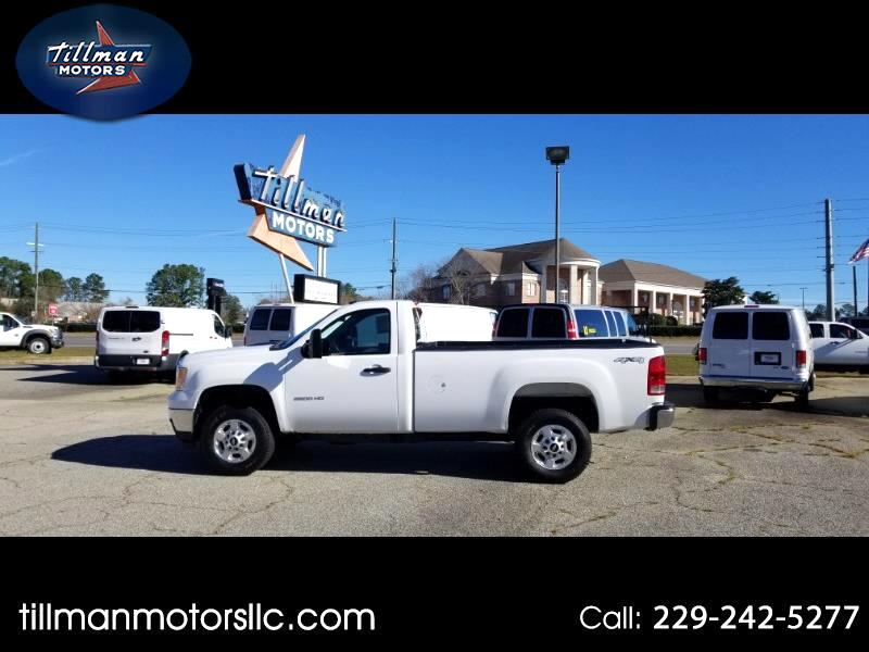 2013 GMC Sierra 2500HD Work Truck Long Box 4WD