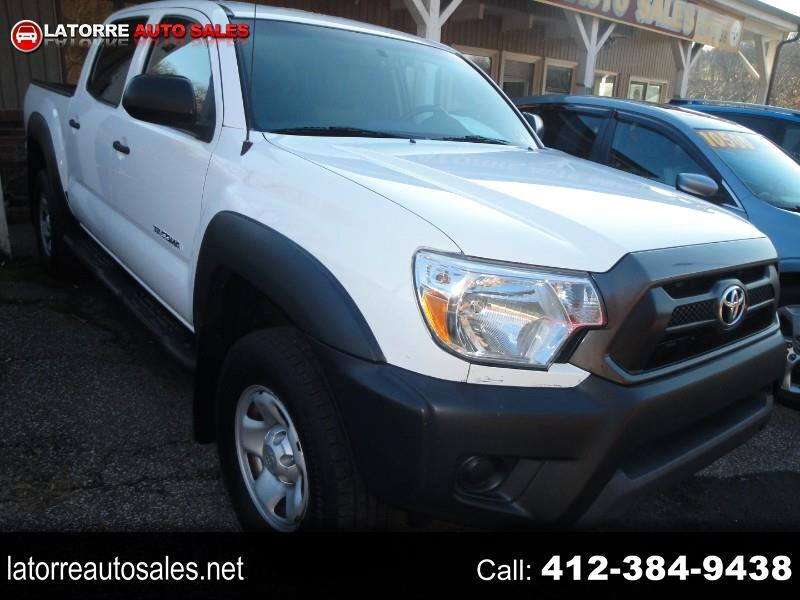 Toyota Tacoma PreRunner Double Cab I4 4AT 2WD 2015