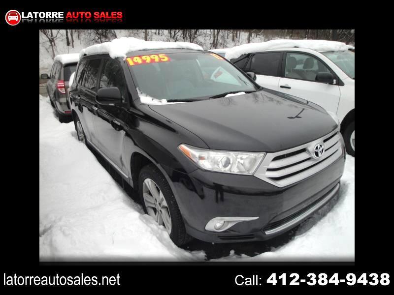 Toyota Highlander Limited 4WD 2013