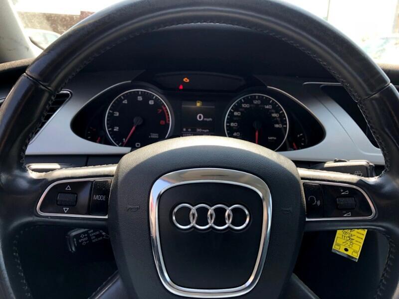 2011 Audi A4 2.0 T Sedan FrontTrak Multitronic