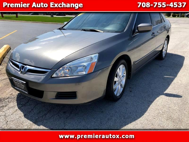 2006 Honda Accord EX V-6 Sedan AT w/ XM Radio