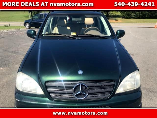 2001 Mercedes-Benz M-Class