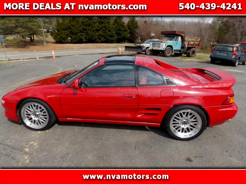 1991 Toyota MR2 T-Bar coupe