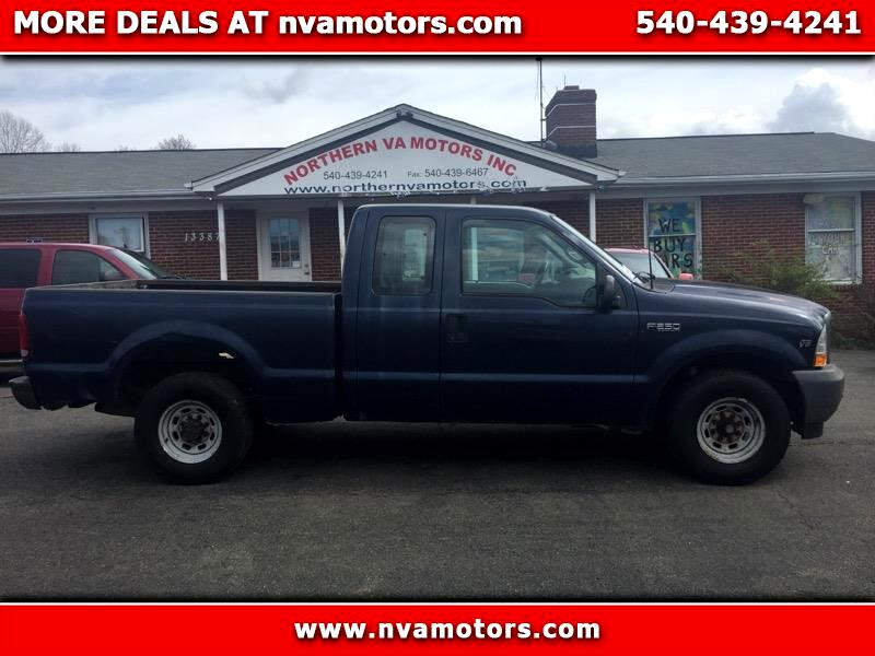 Ford F-250 SD XL SuperCab 2WD 2002