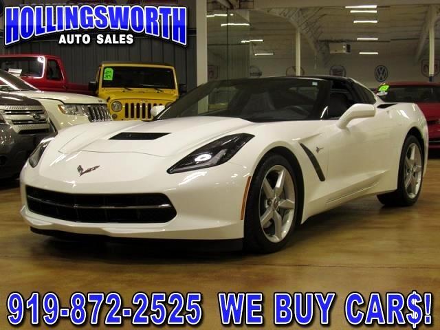 2014 Chevrolet Corvette Stingray 2LT Coupe Manual
