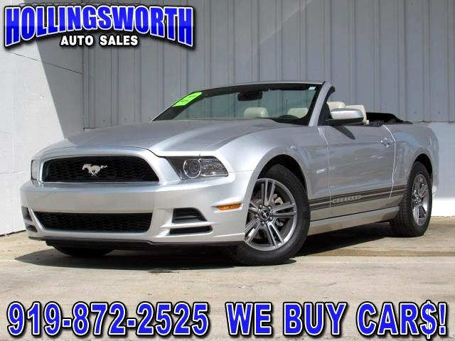 2013 Ford Mustang V6 Convertible