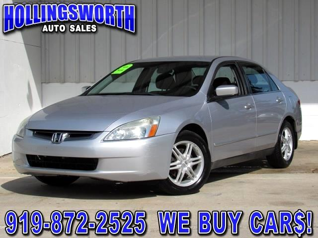 2004 Honda Accord LX Sedan AT with Front Side Airbags