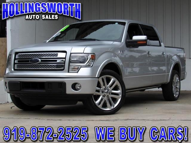 "2014 Ford F-150 2WD SuperCrew 145"" Lariat Limited"