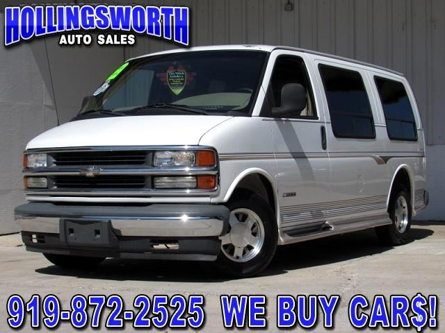 used 2001 chevrolet express 1500 cargo for sale in raleigh nc 27604 hollingsworth auto sales of. Black Bedroom Furniture Sets. Home Design Ideas